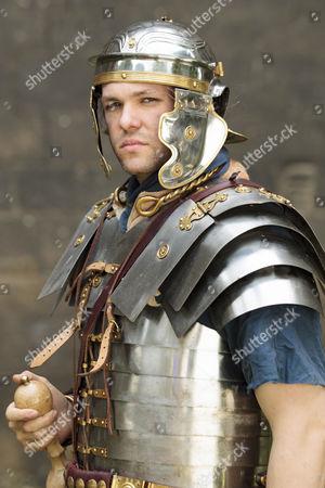 Jason Mann, 9th Legion Re-Enactment Group as Roman Legionary