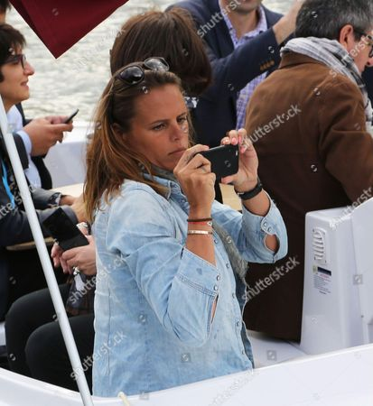 Former French swimmer Laure Manaudou