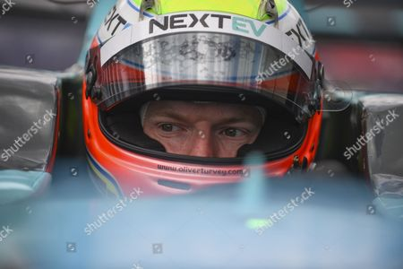 Oliver Turvey of Great Britain and Nextev TCR during Round 10, Formula E, Battersea Park, London