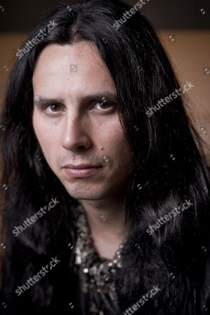 Editorial image of Andy James (Wearing Scars Guitarist) Portrait Shoot, Bath