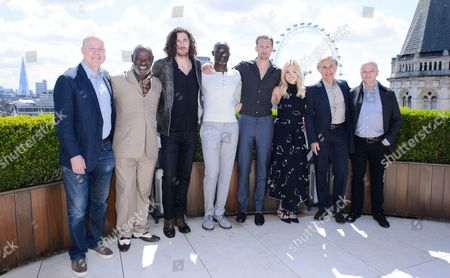 David Barron, Yule Masiteng, Hozier, Djimon Hounsou, Alexander Skarsgård, Margot Robbie and Christoph Waltz