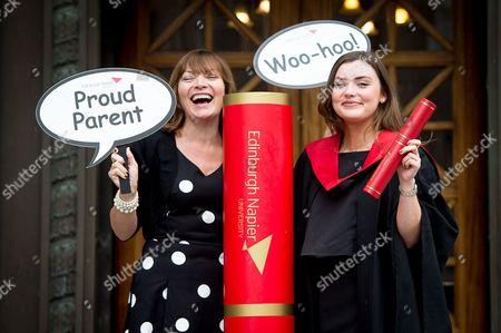 Editorial photo of Rosie Smith graduation at Edinburgh Napier University, Scotland, UK - 04 Jul 2016
