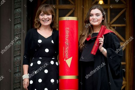 Stock Picture of Lorraine Kelly and her daughter Rosie Smith