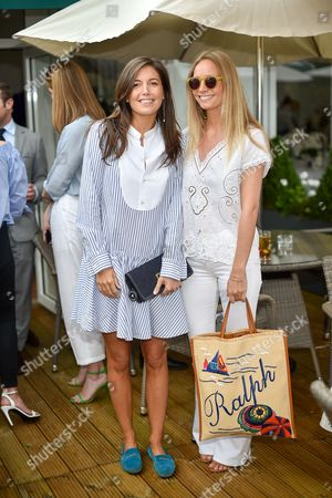 Editorial picture of The Polo Ralph Lauren VIP Suite, Wimbledon Championships, All England Lawn Tennis Club, Wimbledon, London  - 04 Jul 2016