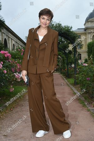 Editorial photo of Street Style, Autumn Winter 2016, Haute Couture Fashion Week, Paris, France - 04 Jul 2016