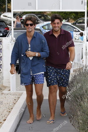 Jake Hall and James Argent