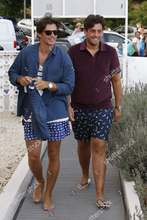 James Argent and Jake Hall