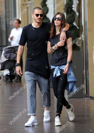 Leonardo Bonucci and Martina Maccari