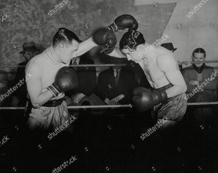 Welterweight Boxer Jack Lord Sparring With Jack Mcavoy At His Training Camp At Dimple For His Fight With Jake Kibrain For The Welterweight Championship Of Great Britain. Box 665 529011641 A.jpg.
