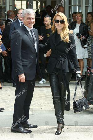 Celine Dion and Sydney Toledano