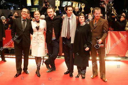 'Candy' film premiere - Neil Armfield, Abbie Cornish, Heath Ledger, Emile Sherman, Margaret Fink and Luke Davies