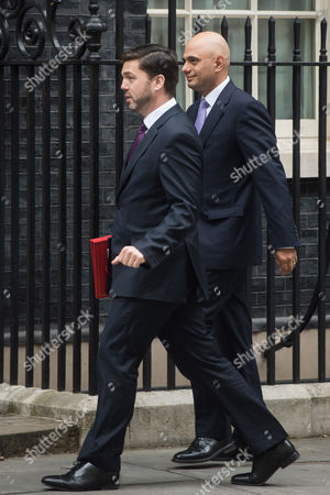 Business Secretary Sajid Javid, Secretary of State for Work and Pensions Stephen Crabb