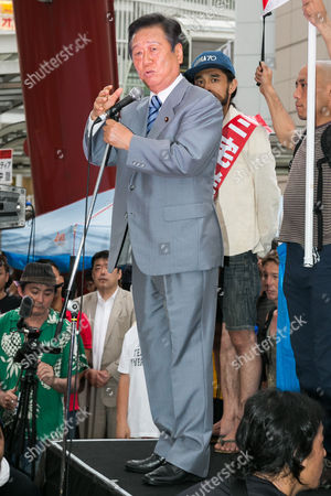 Ichiro Ozawa, President of People's Life Party