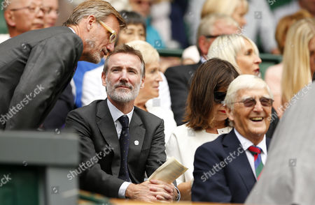 Adam Crozier in the Royal Box on Centre Court during day nine of the 2016 Wimbledon Championships at the All England Lawn Tennis Club, Wimbledon, London on the 5th July 2016