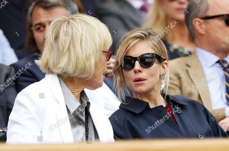 Mary Parkinson and Sienna Miller