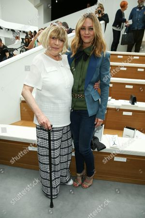 Marianne Faithfull and Vanessa Paradis