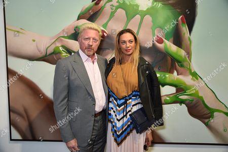 Boris Becker and Sharlely Lilly Kerssenberg