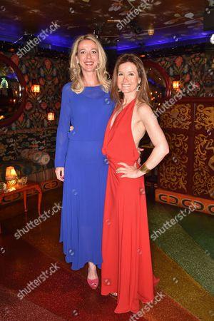 Stock Image of Baroness Fiona De vos Van Steenwijk and Nora Lee Notzon
