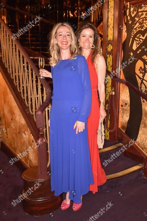 Baroness Fiona De vos Van Steenwijk and Nora Lee Notzon