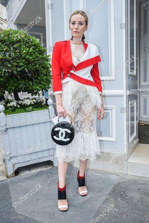 Editorial image of Christian Dior show, Autumn Winter 2016, Haute Couture Fashion Week, Paris, France - 04 Jul 2016