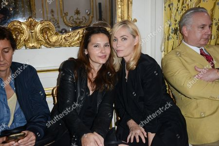 Stock Picture of Virginie Ledoyen, Emanuelle Beart