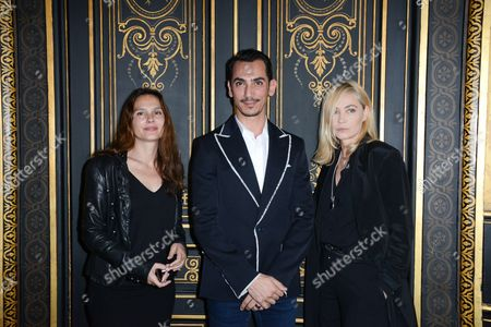 Stock Photo of Virginie Ledoyen, Rami Al Ali, Emanuelle Beart