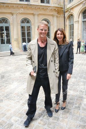 Arnaud Lemaire and friend