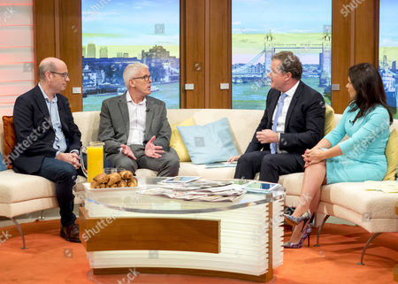 Andrew Gilligan and Lance Price with Piers Morgan and Susanna Reid