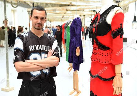 Editorial photo of Aouadi fashion presentation, Autumn Winter 2016, Haute Couture Fashion Week, Paris, France - 05 Jul 2016