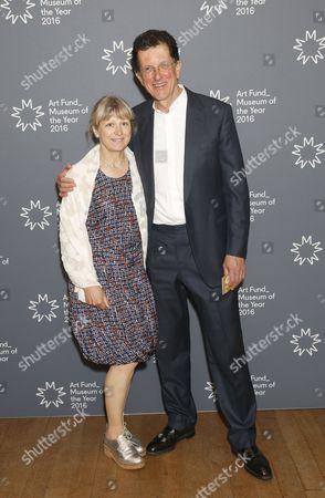 Stock Photo of Vicken Parsons and Antony Gormley