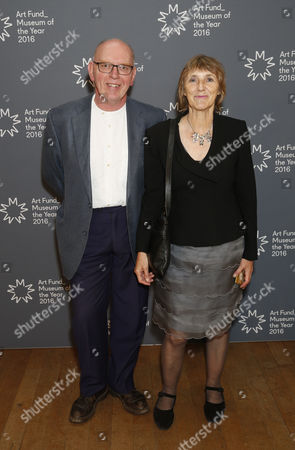 Stock Image of Richard Deacon and Jacqueline Poncelet
