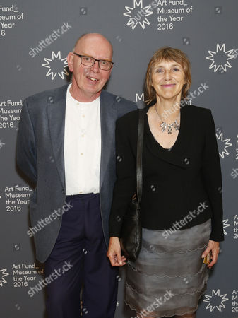 Stock Photo of Richard Deacon and Jacqueline Poncelet