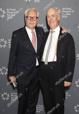 Martin Roth and Charles Saumarez-Smith