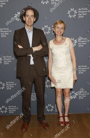 Jonty Claypole and Rosie Millard