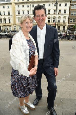 Antony Gormley and wife Vicken Parsons