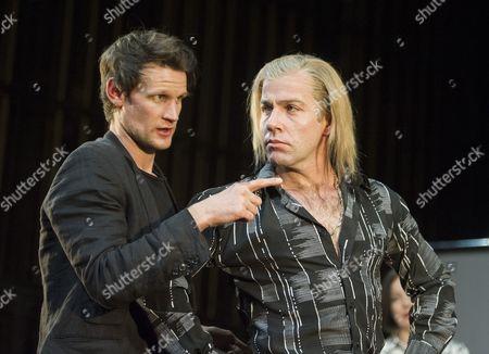 Matt Smith as Maxim, Jonjo O'Neil as Ivan (The Brute)