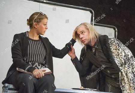 Genevieve Barr as Eva, Jonjo O'Neil as Ivan (The Brute)