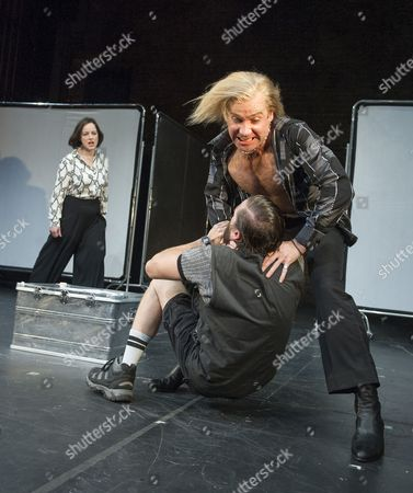 Amanda Drew as Anastasia, Jonjo O'Neil as Ivan (The Brute), Richard Pyros as Carl