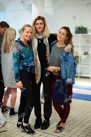 Astrid Harbord, Annabel Simpson and Kelly Eastwood