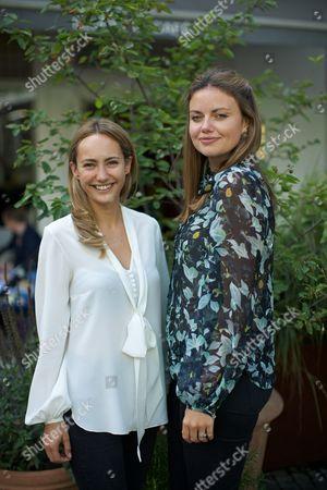 Lavinia Brennan and Natasha Rufus Isaacs