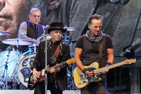 Bruce Springsteen, Max Weinberg and Nils Lofgren