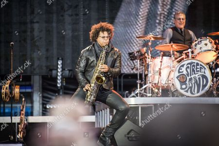 Max Weinberg and Jake Clemons