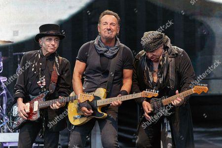 Bruce Springsteen, Steven Van Zandt and Nils Lofgren