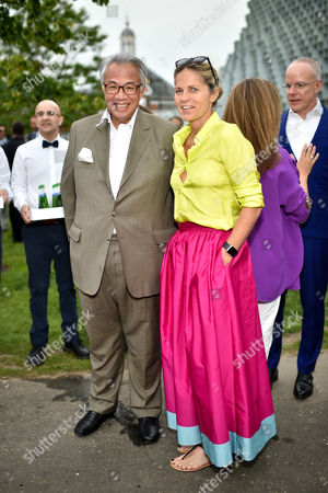 Sir David Tang and Lady Tang
