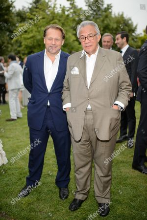 David Ross and Sir David Tang