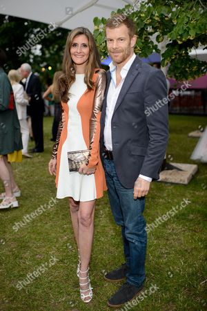 Stock Picture of Justine Dobbs-Higginson and Tom Aiken