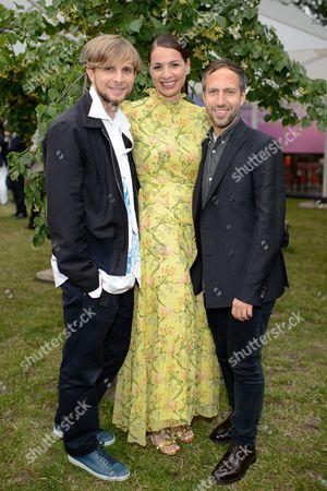 Christopher de Vos, Yana Peel and Peter Pilotto