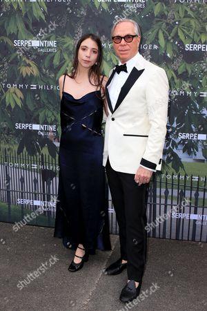 Tommy Hilfiger and Elizabeth Hilfiger