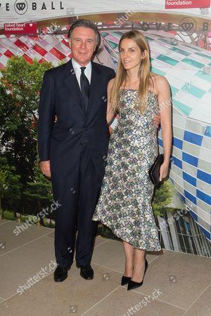 Stock Photo of Alberto Repossi and Gaia Repossi