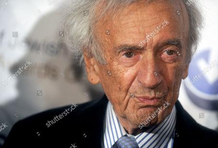 Stock Image of Elie Wiesel